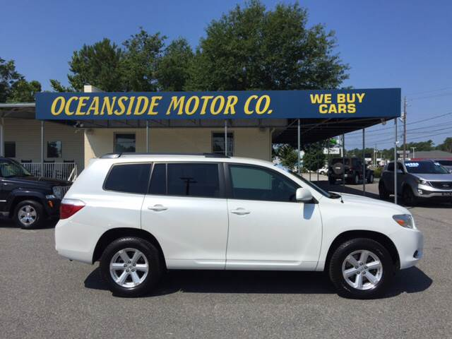 2010 Toyota Highlander for sale at Oceanside Motor Company in Wilmington NC