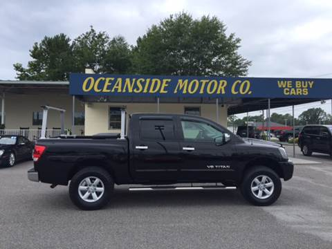 2011 Nissan Titan for sale at Oceanside Motor Company in Wilmington NC