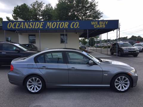 2011 BMW 3 Series for sale at Oceanside Motor Company in Wilmington NC