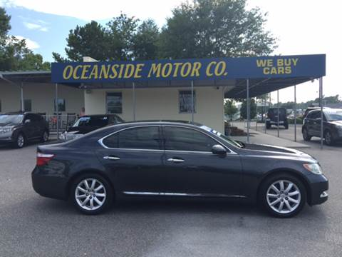 2007 Lexus LS 460 for sale at Oceanside Motor Company in Wilmington NC