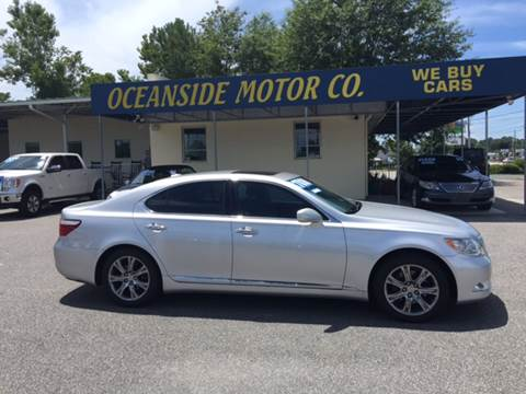 2009 Lexus LS 460 for sale at Oceanside Motor Company in Wilmington NC