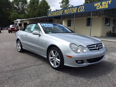 2006 Mercedes-Benz CLK for sale at Oceanside Motor Company in Wilmington NC