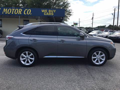 2012 Lexus RX 350 for sale at Oceanside Motor Company in Wilmington NC