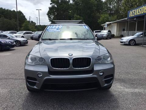 2012 BMW X5 for sale at Oceanside Motor Company in Wilmington NC