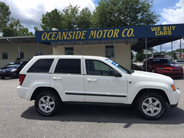 2008 Jeep Grand Cherokee for sale at Oceanside Motor Company in Wilmington NC