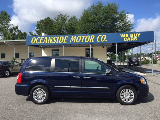 2012 Chrysler Town and Country for sale at Oceanside Motor Company in Wilmington NC