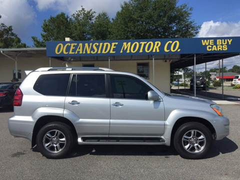 2008 Lexus GX 470 for sale at Oceanside Motor Company in Wilmington NC