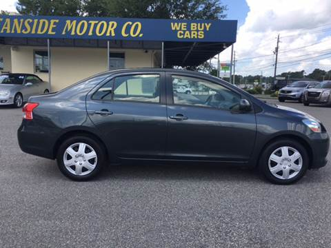 2012 Toyota Yaris for sale at Oceanside Motor Company in Wilmington NC