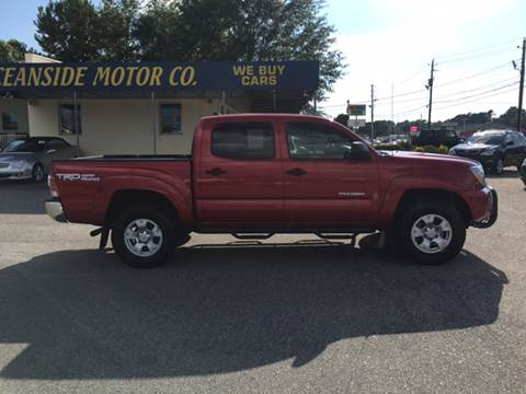 2015 Toyota Tacoma for sale at Oceanside Motor Company in Wilmington NC