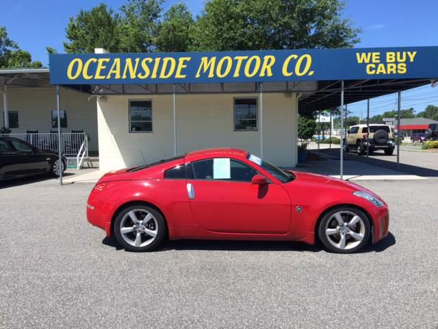 2006 Nissan 350Z for sale at Oceanside Motor Company in Wilmington NC