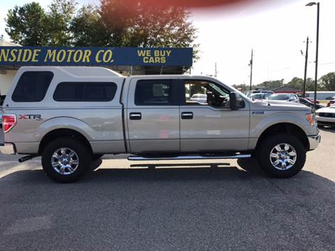 2010 Ford F-150 for sale at Oceanside Motor Company in Wilmington NC