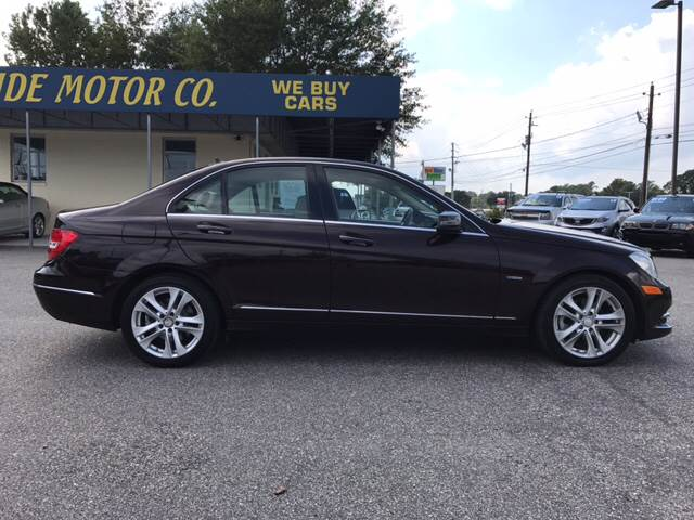 2012 Mercedes-Benz C-Class for sale at Oceanside Motor Company in Wilmington NC