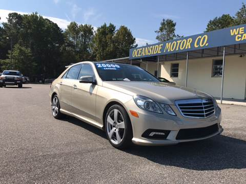 2010 Mercedes-Benz E-Class for sale at Oceanside Motor Company in Wilmington NC
