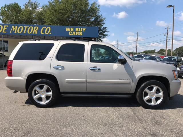 2007 Chevrolet Tahoe for sale at Oceanside Motor Company in Wilmington NC