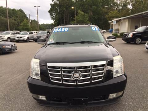 2007 Cadillac Escalade for sale at Oceanside Motor Company in Wilmington NC