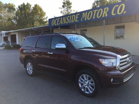 2010 Toyota Sequoia for sale at Oceanside Motor Company in Wilmington NC