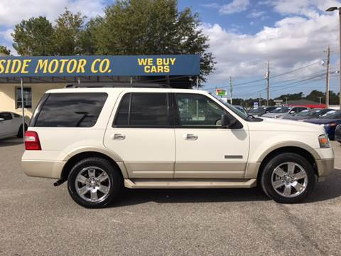 2008 Ford Expedition for sale at Oceanside Motor Company in Wilmington NC