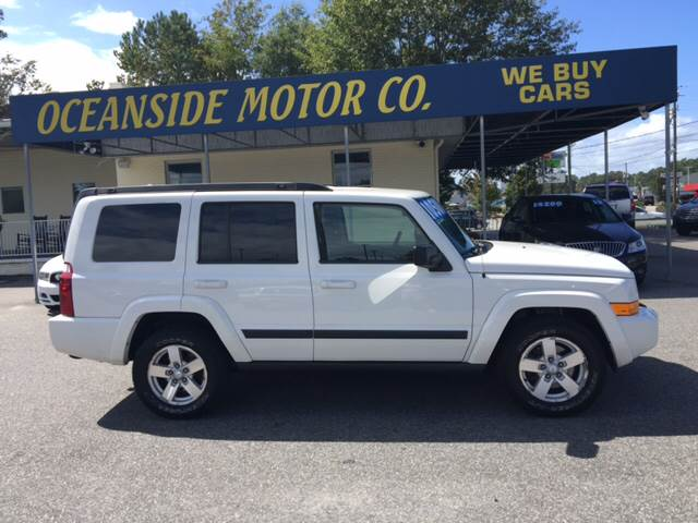 2008 Jeep Commander for sale at Oceanside Motor Company in Wilmington NC