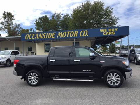 2012 Toyota Tundra for sale at Oceanside Motor Company in Wilmington NC