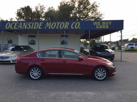 2006 Lexus GS 300 for sale at Oceanside Motor Company in Wilmington NC