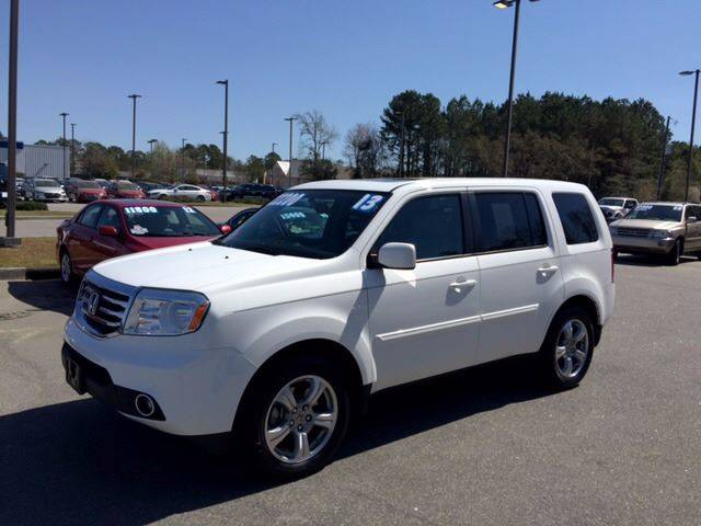 2013 Honda Pilot for sale at Oceanside Motor Company in Wilmington NC
