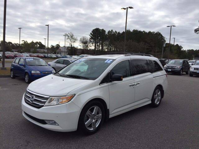 2012 Honda Odyssey for sale at Oceanside Motor Company in Wilmington NC