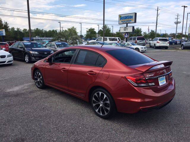 2013 Honda Civic for sale at Oceanside Motor Company in Wilmington NC