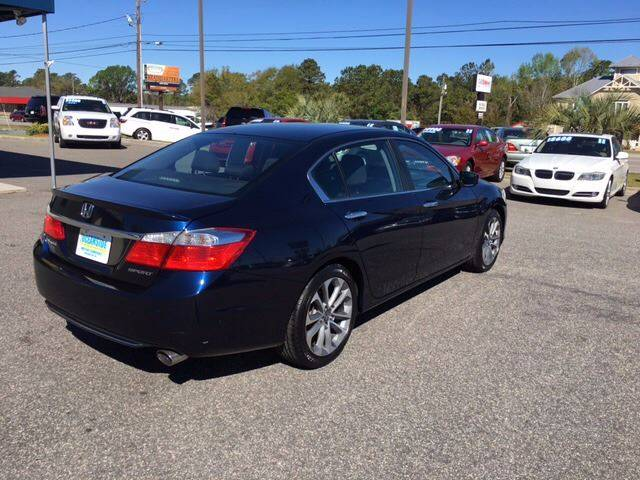 2014 Honda Accord for sale at Oceanside Motor Company in Wilmington NC