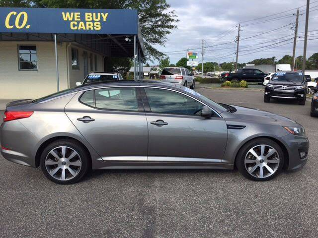 2013 Kia Optima for sale at Oceanside Motor Company in Wilmington NC