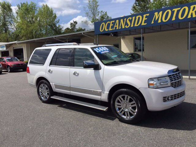 2009 Lincoln Navigator for sale at Oceanside Motor Company in Wilmington NC