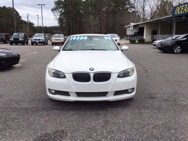 2008 BMW 3 Series for sale at Oceanside Motor Company in Wilmington NC
