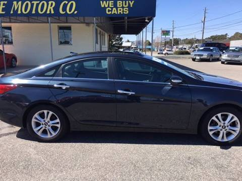 2013 Hyundai Sonata for sale at Oceanside Motor Company in Wilmington NC