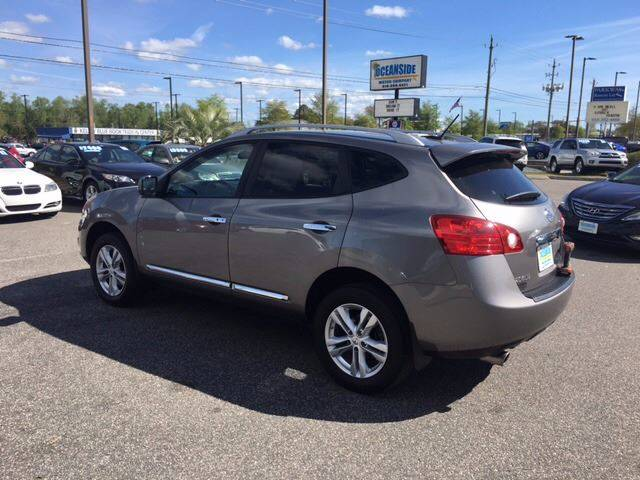 2012 Nissan Rogue for sale at Oceanside Motor Company in Wilmington NC