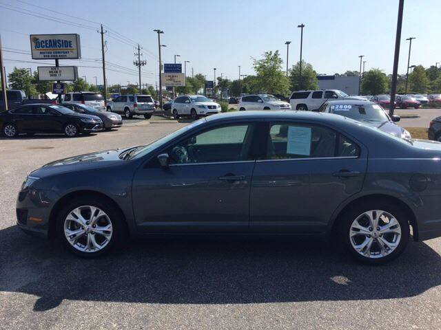 2012 Ford Fusion for sale at Oceanside Motor Company in Wilmington NC