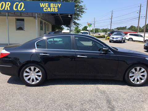 2009 Hyundai Genesis for sale at Oceanside Motor Company in Wilmington NC