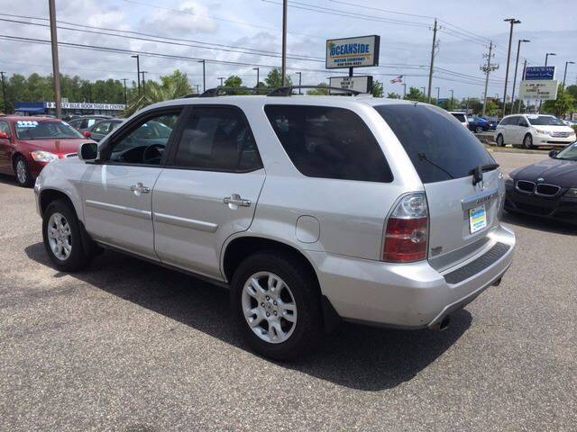 2005 Acura MDX for sale at Oceanside Motor Company in Wilmington NC