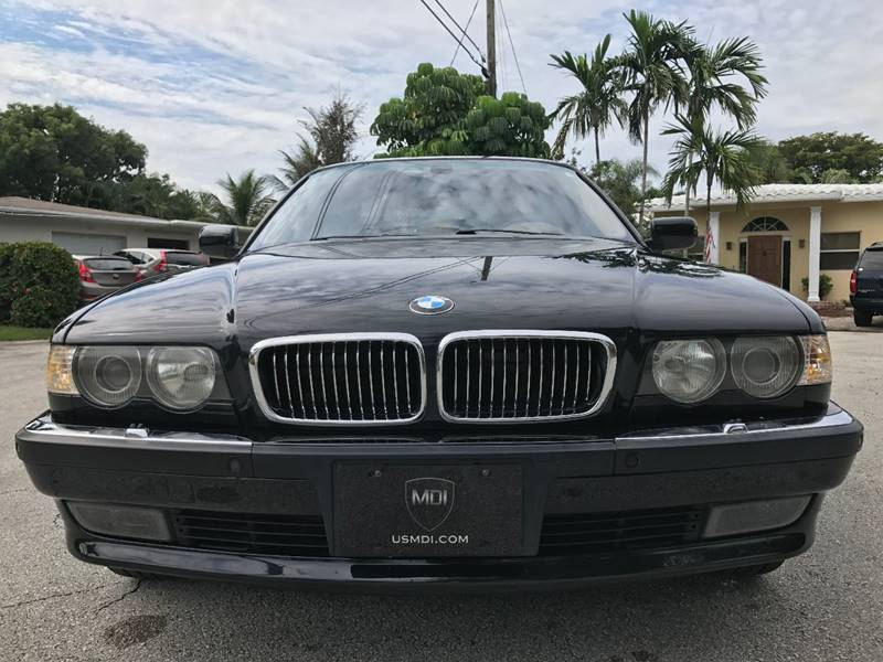 2001 BMW 7 Series For Sale At Motorsport Dynamics International In Pompano Beach FL
