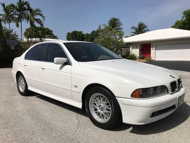 2001 BMW 5 Series 525i In Pompano Beach FL - Motorsport Dynamics ...