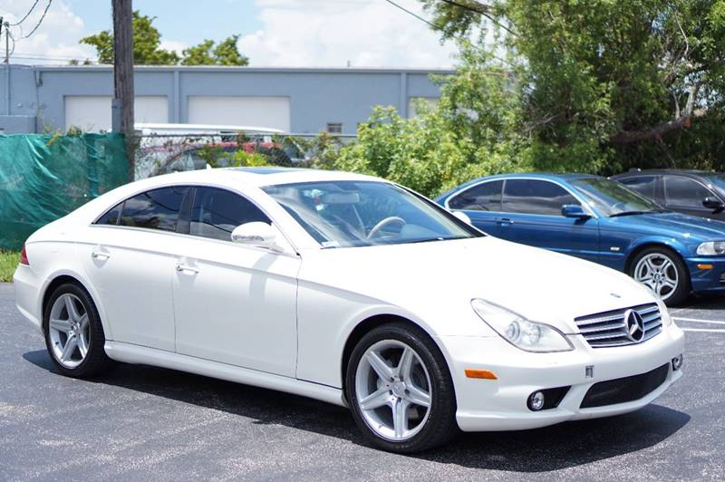 2008 Mercedes Benz CLS For Sale At Motorsport Dynamics International In Pompano  Beach FL