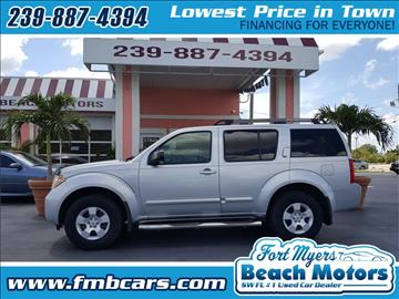 2007 Nissan Pathfinder for sale in Fort Myers, FL
