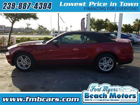 2010 Ford Mustang for sale in Fort Myers FL