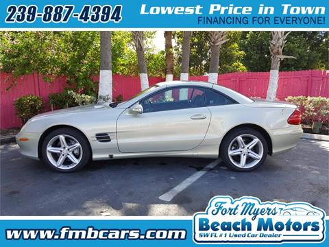 2003 Mercedes-Benz SL-Class for sale in Fort Myers, FL