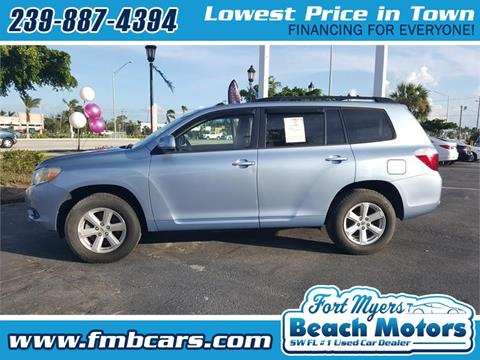 2010 Toyota Highlander for sale in Fort Myers FL