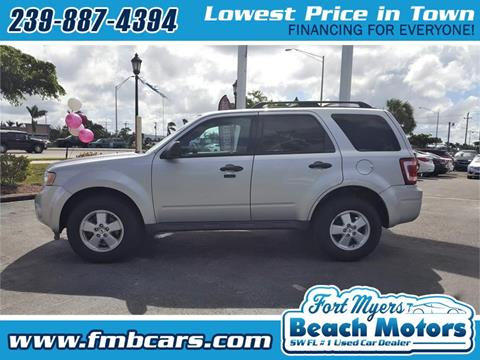 2012 Ford Escape for sale in Fort Myers FL