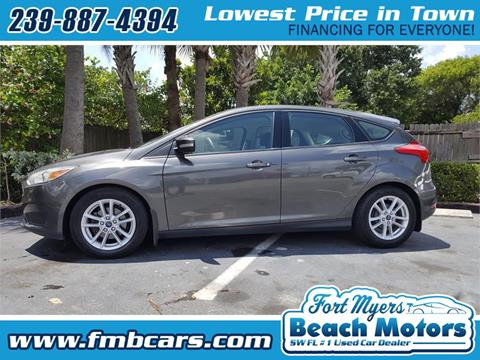 2015 Ford Focus for sale in Fort Myers FL