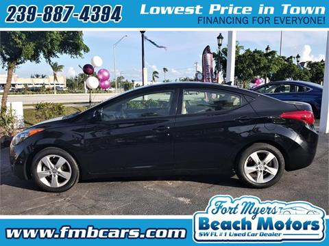 2013 Hyundai Elantra for sale in Fort Myers FL