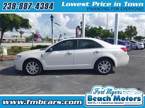 2010 Lincoln MKZ for sale in Fort Myers, FL