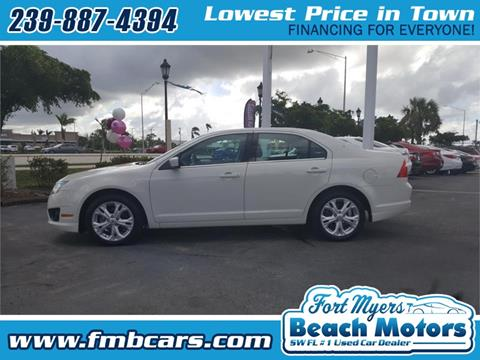 2012 Ford Fusion for sale in Fort Myers FL
