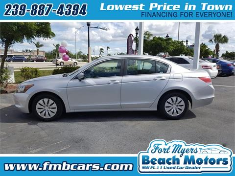 2009 Honda Accord for sale in Fort Myers FL