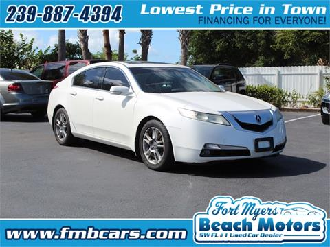 Acura Fort Myers >> 2011 Acura Tl For Sale In Fort Myers Fl